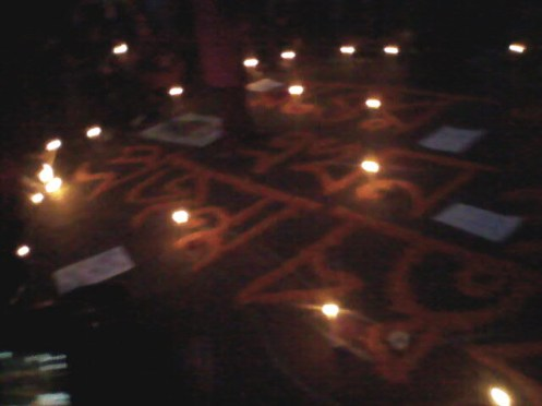 Protesters renamed Shahbag as Projonmo Chottar (Generation Square)