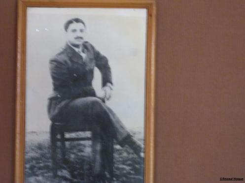 At Sena Smarak  museum, I see this  picture of  former INA General Shah Nawaj Khan, grandfather of Superstar Shahrukh Khan.