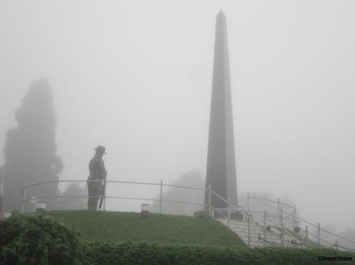 Gurkha War Memorial at Batasia Loop