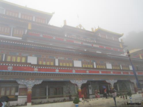 A Buddhist monastery at Batasia Loop