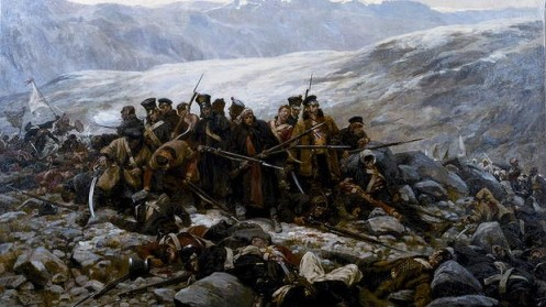 The Last Stand of the 44th Foot  at Gundermuck, 1842 by William Barns Wollen. Image Credit: www.smh.com.au